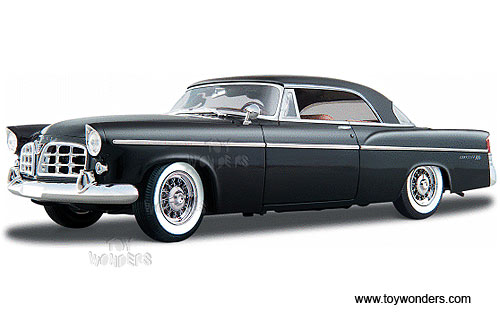 1956 Chrysler 300B Hard Top 31897BK 118 scale Maisto wholesale
