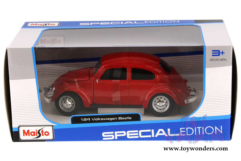 Volkswagen Beetle Hard Top by Maisto 1/24 scale cast model car ...