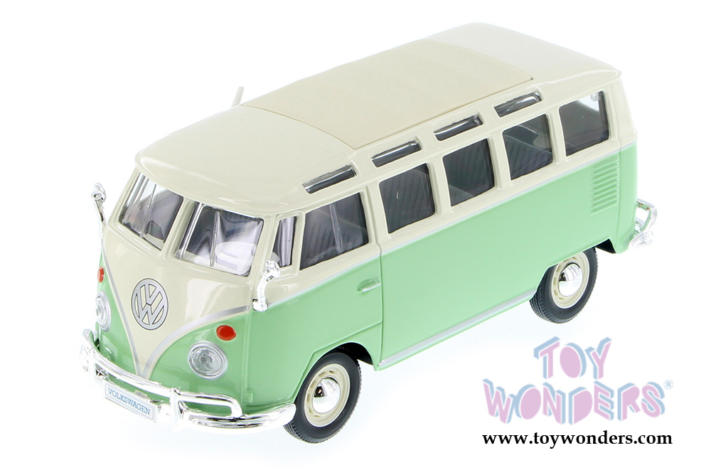 Volkswagen Van Samba by Maisto 1/25 scale cast model car ...