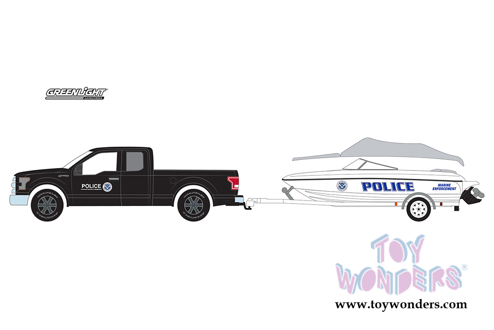 Greenlight hitch tow series 10 2015 ford f 150 pickup and greenlight hitch tow series 10 ford f 150 pickup and homeland security aloadofball Image collections