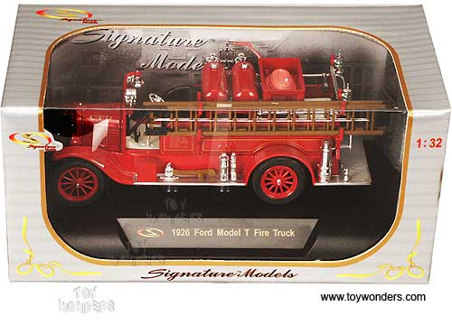 1926 Ford Model T Fire Truck Chicago Fire Dept  32313R 1/32
