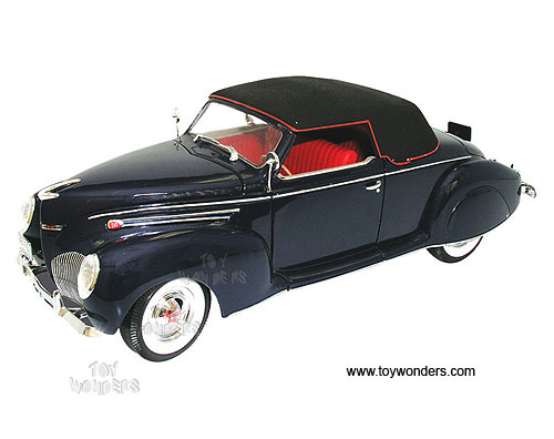 1939 lincoln zephyr soft top by signature models 1 32 scale diecast 1938 Lincoln Car signature models lincoln zephyr soft top 1939 1 32 scale diecast model