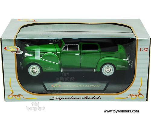 1938 cadillac fleetwood 32340gn 1 32 scale signature for Troy motor mall cadillac