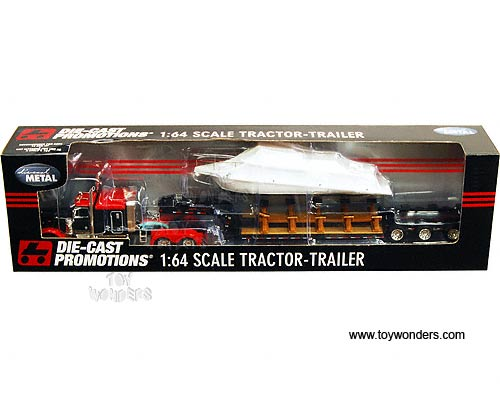 ERTL 1:64 Scale Die Cast International 9800 COE tractor trailer w ...