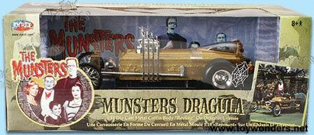 Munsters Dragula By Ertl 1 18 Scale Diecast Model Car