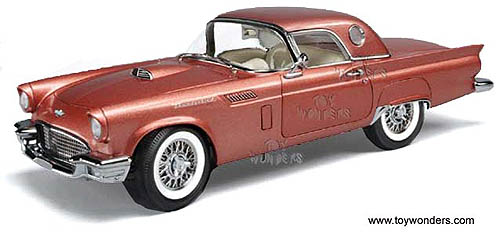ERTL Authentics - Ford Thunderbird (1957 1/18 scale diecast model car  sc 1 st  Toy Wonders & 1957 ford Thunderbird by ERTL Authentics 1/18 scale diecast model ... markmcfarlin.com
