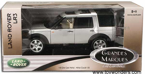 Ertl Land Rover Discovery Lr3 1 18 Scale Cast Model Car Silver