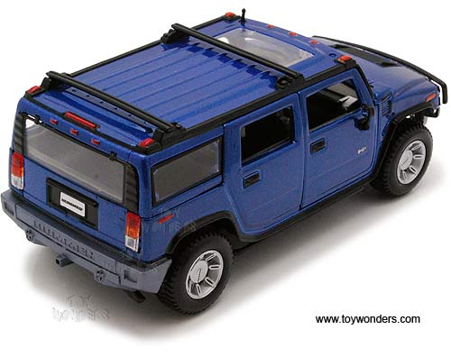 Hummer Suv W Sunroof Scale Showcasts Collectibles