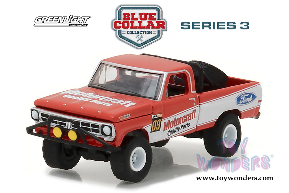 Greenlight Blue Collar Collection Series  Ford F  Pickup Truck Motorcraft Quality