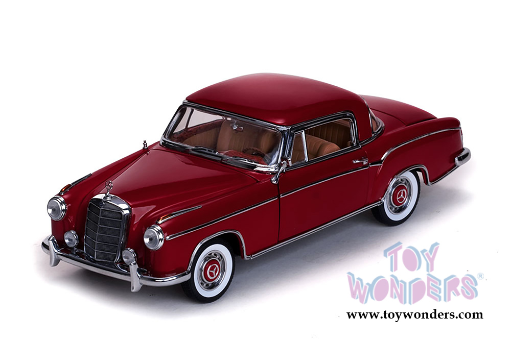 1958 mercedes benz 220 se coupe by sun star 1 18 scale for Sun motor cars mercedes
