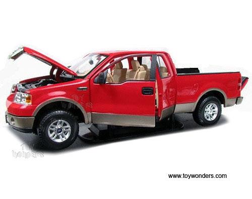 Maisto Premiere - Ford F-150 Lariat Pickup (2006 1/18 scale  sc 1 st  Toy Wonders & 2006 Ford F-150 Lariat Pickup Truck 36128R 1/18 scale Maisto ... markmcfarlin.com
