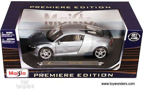 Maisto Premiere   Audi R8 Hard Top (1/18 Scale Diecast Model Car,
