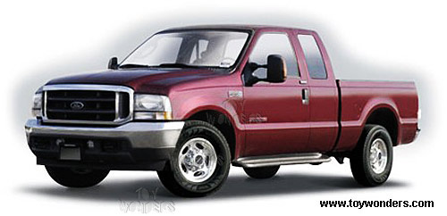 Maisto Ford F 350 Lariat Pick Up Truck 2004 1