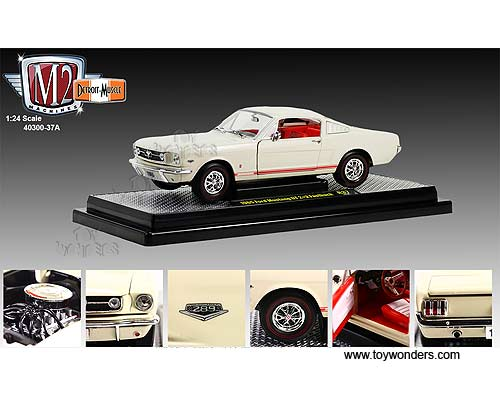 ... Fastback Hard Top (1965, 1/24 scale diecast model car, Wimbledon White