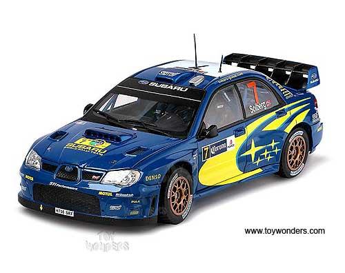 Rallymexico2007 Subaru Impreza Wrc Race Car P Solberg P Mills 7 By