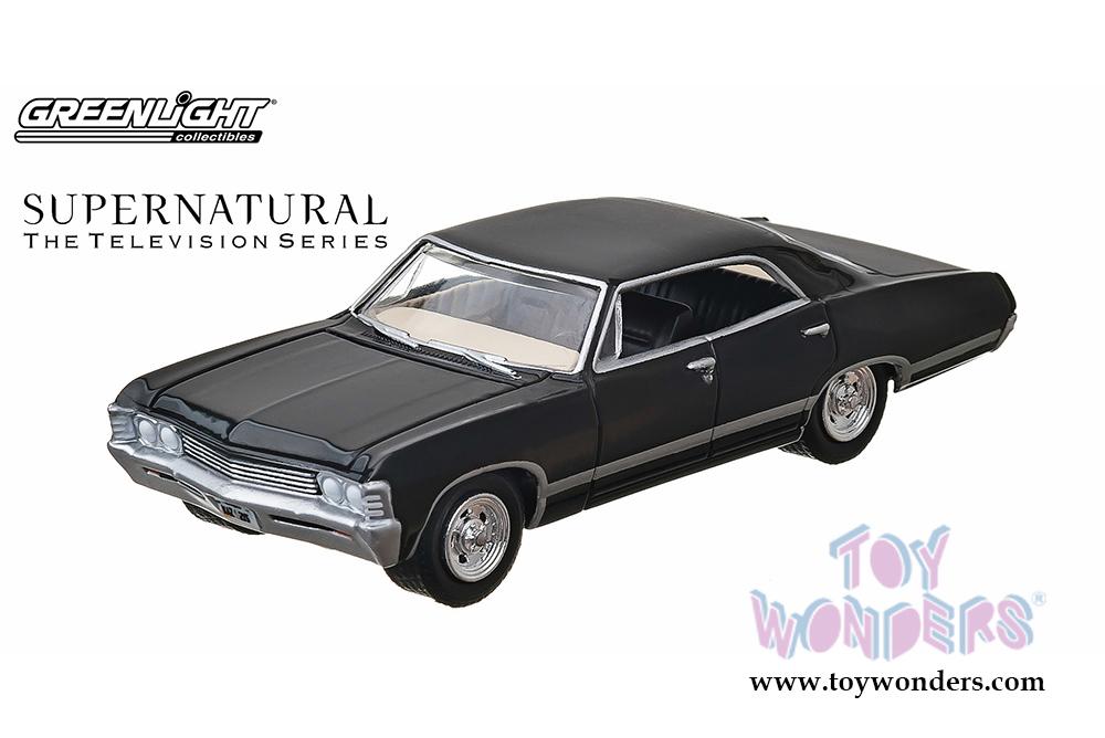 Supernatural TV Show Chevy Impala Hard Top E Scale - Supernatural show car