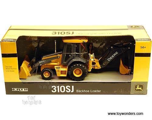 Box John Deere Sj Backhoe Loader Farm Tractor