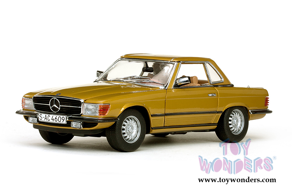 1977 mercedes benz 350 sl coupe by sun star 1 18 scale for Star motor cars mercedes