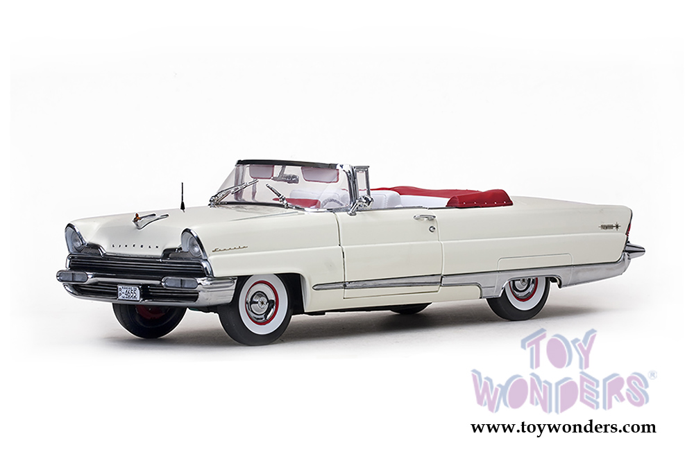 1956 Lincoln Premiere Closed Convertible 4655 1 18 Scale Sun Star