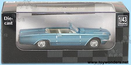 New Ray - Ford Thunderbird (1966 143 Asstd.) 48626 & 1966 ford Thunderbird by New Ray 1/43 scale diecast model car ... markmcfarlin.com