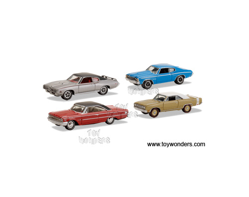 Gold Toy Diecast Cars Series Cars By Johnny Lightning