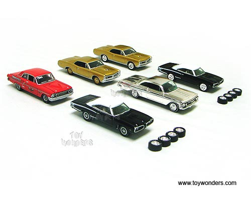 Muscle Cars Release By Johnny Lightning Jl Scale