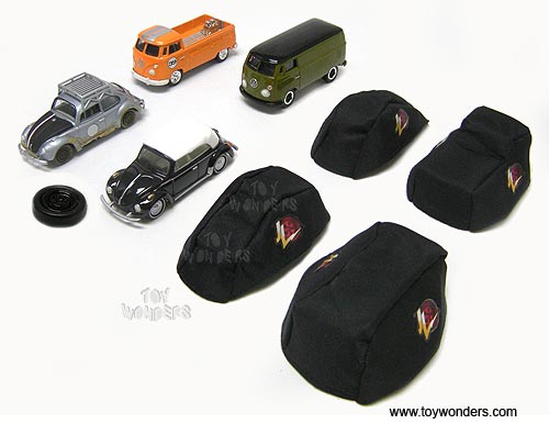 RC2 Johnny Lightning JL M8 Volkswagen 9 Bonus Fabric Car Cover (1:64, Asstd. C) 50248C