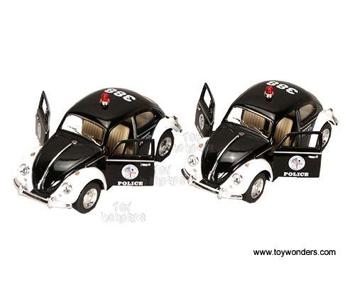 Kinsmart - Volkswagen Classical Beetle Police (1967, 1:32) 5057DP