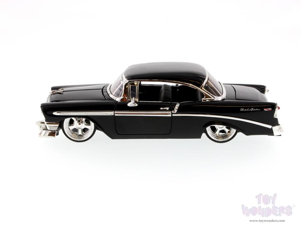 1956 Chevy Bel Air Hard Top 50607ck 124 Scale Jada Toys Bigtime
