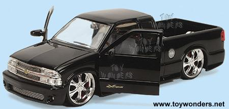 2002 Chevrolet S10 Xtreme Pickup W Oasis Rims By Jada Toys Dub City