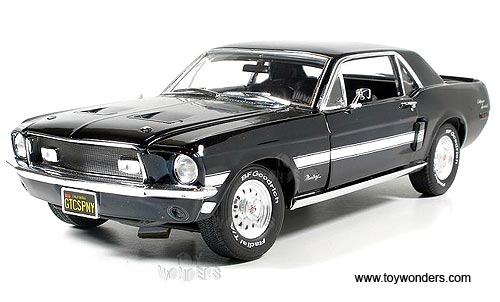 Superb Greenlight Muscle Car Garage   Ford Mustang GT California Special Hard Top  (1968, 1