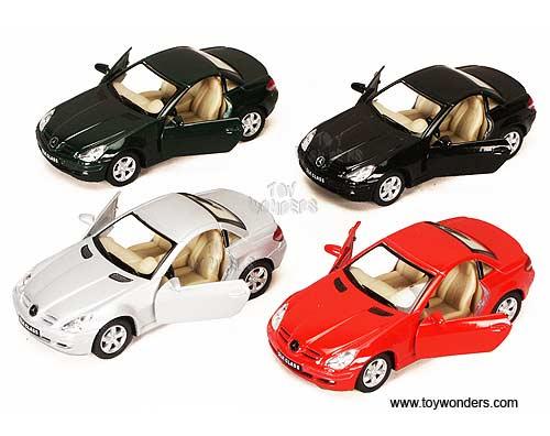 Mercedes Benzz Slk Class Hard Top 5095d 1 32 Scale Kinsmart