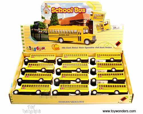 toy diecast school bus 5107d kinsmart wholesale diecast model toy car