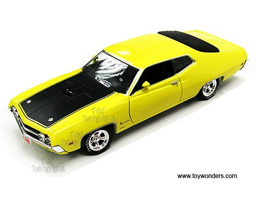 Rc Johnny Lightning Ford Torino Cobra Hard Top