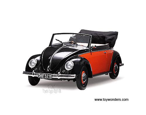 Volkswagen Beetle Convertible Red. Sun Star - Volkswagen Kafer