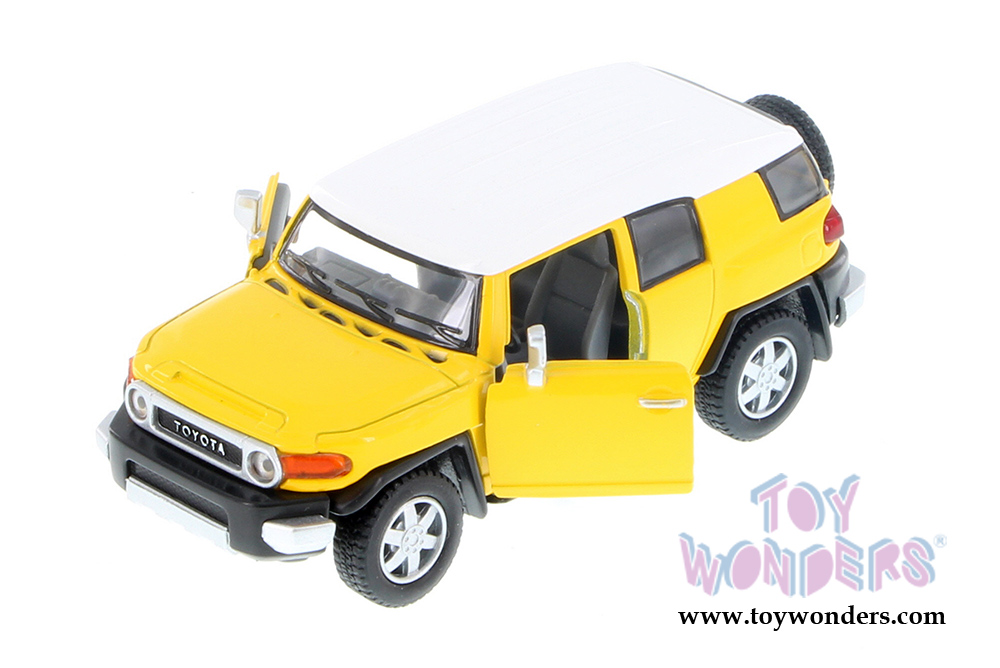 Toyota Fj Cruiser Suv Scale Kinsmart Wholesale