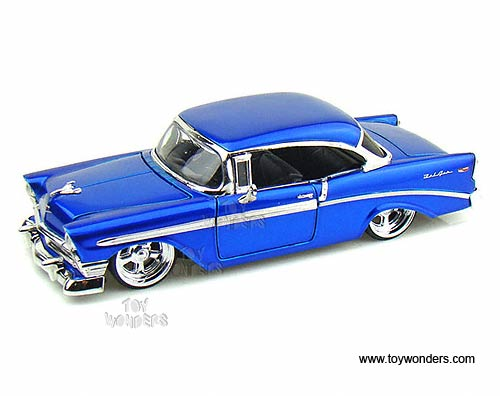 1956 Chevy Bel Air Hard Top By Jada Toys Bigtime Kustoms 124 Scale