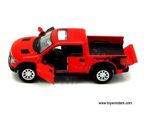 Kinsmart - Ford F-150 SVT Raptor SuperCrew Pickup w/ Sunroof (2013  sc 1 st  Toy Wonders & 2013 Ford F-150 SVT Raptor SuperCrew Pickup w/SunRoof 5365D 1/46 ... markmcfarlin.com