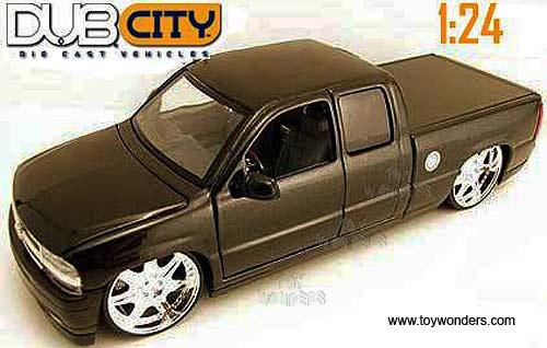 2002 chevy Silverado by Jada Toys Dub City 1/24 scale diecast model ...