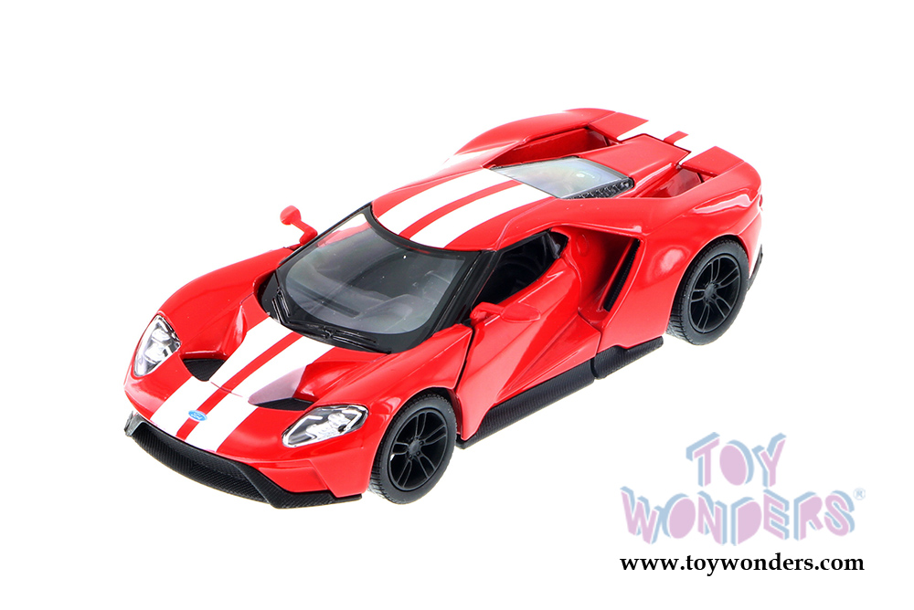 Kinsmart - Ford GT with Stripes Hard Top (2017 1/38 scale diecast  sc 1 st  Toy Wonders & 2017 Ford GT Hard Top 5391DF 1/38 scale Kinsmart wholesale diecast ... markmcfarlin.com