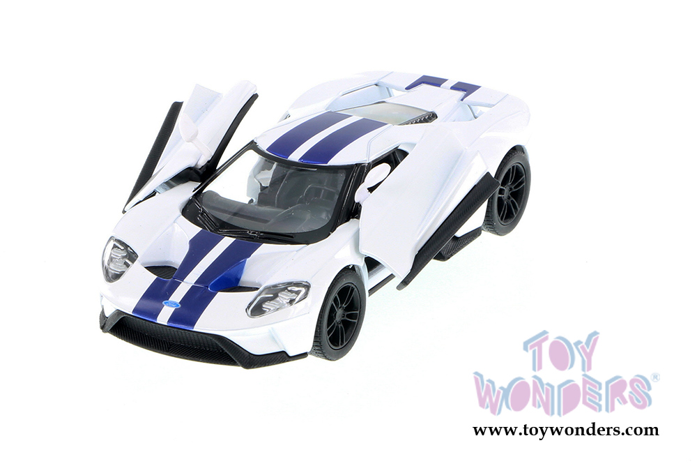 Kinsmart Ford Gt With Stripes Hard Top  Scalecast