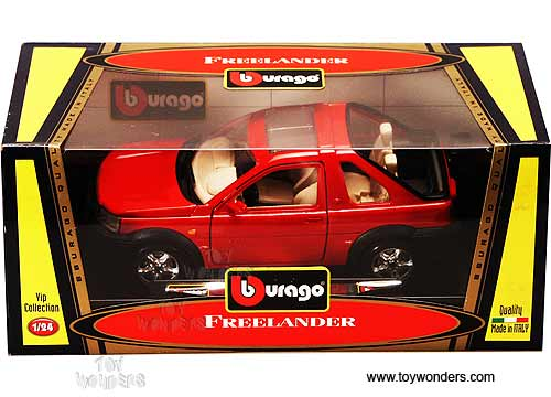 BBurago Vip - Land Rover Freelander (1:24, Red) 555R