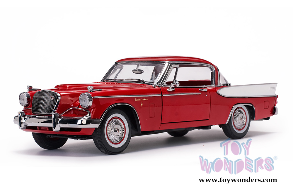 Auto World SC334-2 Slot Car Studebaker Golden Hawk 1957 1:64 NEU /& OVP