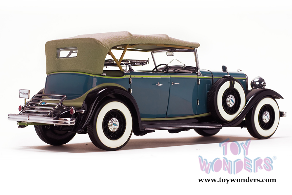 1932 ford lincoln kb top up 6161 1 18 scale sun star. Black Bedroom Furniture Sets. Home Design Ideas