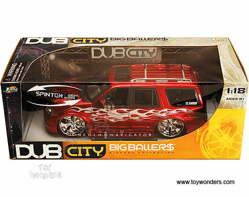 2003 lincoln Navigator Stunners by Jada Toys Dub City 1/18 scale ...