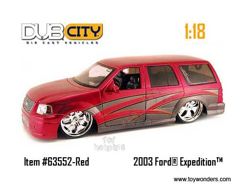 Jada Toys Dub City - Ford Expedition SUV (2003 1/18 scale diecast  sc 1 st  Toy Wonders & 2003 ford Expedition SUV by Jada Toys Dub City 1/18 scale diecast ... markmcfarlin.com