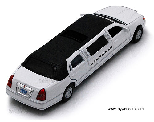 1999 Las Vegas Lincoln Town Car Stretch Limousine 7001dlv 1 38 Scale
