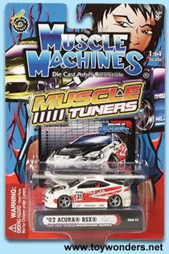 assorted Cars by Muscle Machine Muscle Tuner 1/64 scale ...