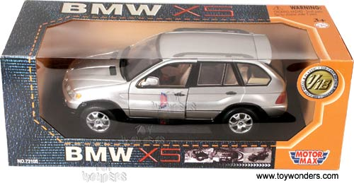 1998 Bmw X5 Suv By Motormax 1 18 Scale Diecast Model Car