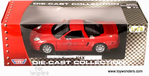 2003 Acura Nsx Hard Top By Motormax 1 18 Scale Diecast Model Car